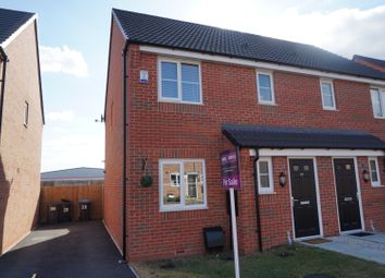 Thumbnail 3 bed semi-detached house for sale in Slate Drive, Hinckley