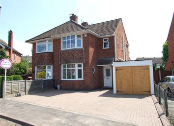Thumbnail 3 bed semi-detached house for sale in Charles Avenue, Spondon, Derby