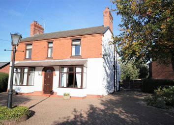 Thumbnail 4 bed detached house for sale in Wrexham Road, Whitchurch