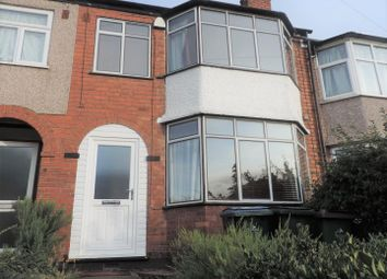 Thumbnail 3 bed terraced house to rent in Purefoy Road, Coventry