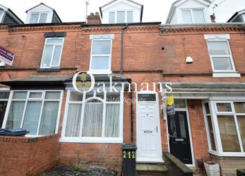 Thumbnail 5 bedroom terraced house for sale in Hubert Road, Birmingham, West Midlands.
