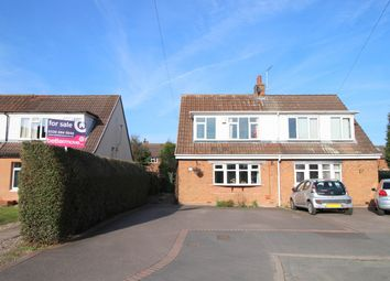 Thumbnail 3 bed semi-detached house for sale in Somerville Road, Alrewas, Burton-On-Trent