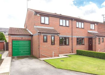Thumbnail 3 bed semi-detached house for sale in Low Meadow, Selby, North Yorkshire