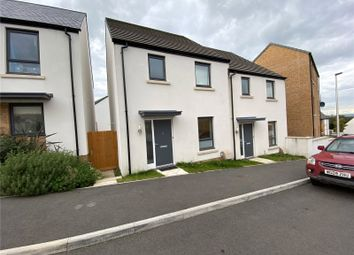 Thumbnail 3 bed semi-detached house to rent in Stock Park, Okehampton