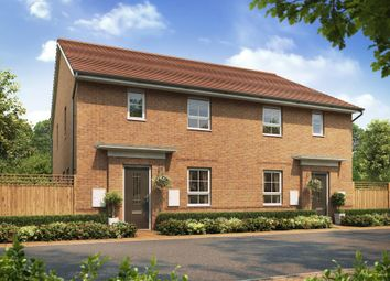 "Thumbnail 2 bed end terrace house for sale in ""Amber"" at The Ridge, London Road, Hampton Vale, Peterborough"
