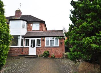 Thumbnail 3 bed semi-detached house to rent in Wyche Avenue, Kings Heath, Birmingham