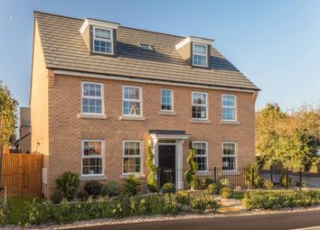 """Thumbnail 5 bed detached house for sale in """"Buckingham"""" at Station Road, Langford, Biggleswade"""