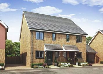 Thumbnail 2 bed semi-detached house for sale in Springhead Park, Wingfield Bank, Northfleet, Gravesend