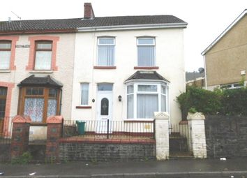 Thumbnail 3 bed end terrace house to rent in Aubrey Road, Penygraig