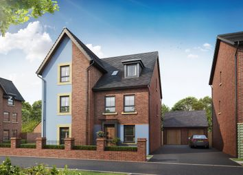 "Thumbnail 4 bedroom semi-detached house for sale in ""Rochester"" at Beggars Lane, Leicester Forest East, Leicester"