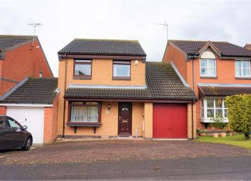 Thumbnail 3 bed detached house for sale in Loxley Drive, Mansfield