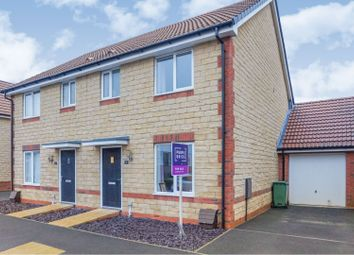 Thumbnail 3 bed semi-detached house for sale in Orchid Mews, Didcot