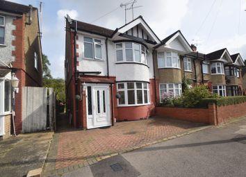 Thumbnail 3 bed semi-detached house for sale in Britannia Avenue, Luton