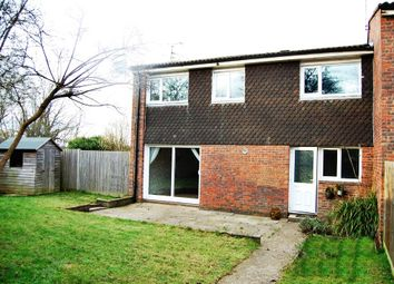 Thumbnail 3 bed terraced house for sale in Brideake Close, Crawley