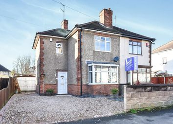 Thumbnail 3 bed semi-detached house for sale in Chadwick Avenue, Allenton, Derby