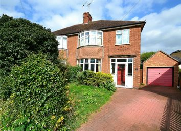 Thumbnail 4 bedroom semi-detached house for sale in Tennis Court Avenue, Huntingdon, Cambridgeshire