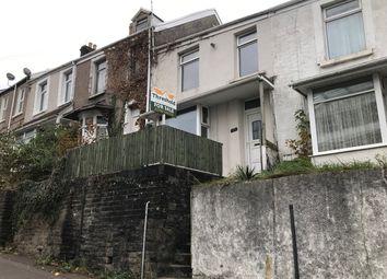 Thumbnail 3 bed terraced house for sale in Bryn Syfi Terrace, Swansea