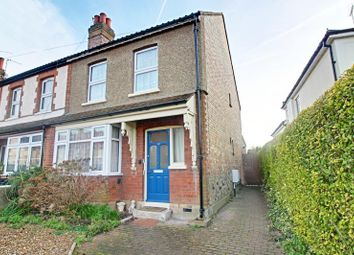 Thumbnail 3 bed end terrace house to rent in Sheering Mill Lane, Sawbridgeworth, Herts