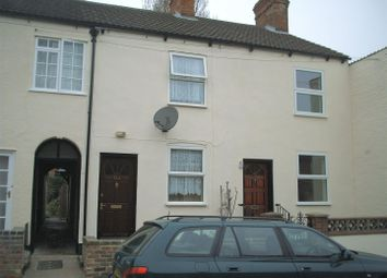 Thumbnail 2 bed terraced house to rent in Cross Street, Newark