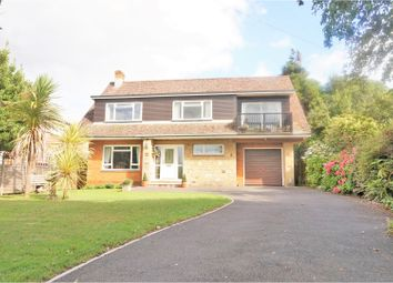 Thumbnail 4 bed detached house for sale in Colwell Road, Freshwater, Totland Bay