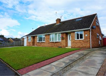 Thumbnail 2 bedroom bungalow for sale in Riverside Crescent, York
