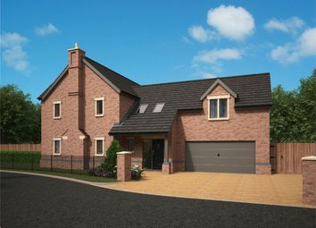 Thumbnail 4 bedroom detached house for sale in Flaxmoss Gardens, Helmshore, Rossendale
