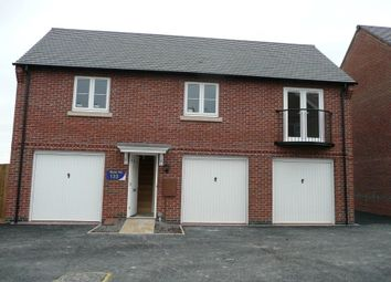 Thumbnail 2 bed flat to rent in Solent Road, Church Gresley, Derbyshire