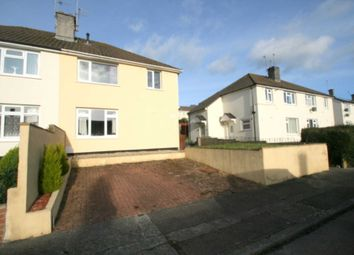 Thumbnail 2 bed flat for sale in Macaulay Crescent, Plymouth