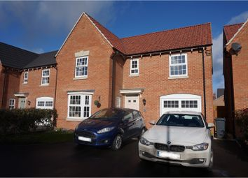 Thumbnail 4 bed detached house for sale in William Close, Ibstock