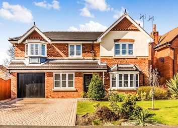 Thumbnail 5 bed detached house for sale in Kingsbury Drive, Wilmslow