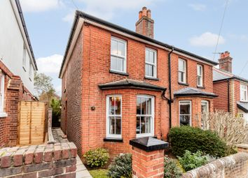 Thumbnail 3 bed semi-detached house for sale in Hallam Road, Godalming