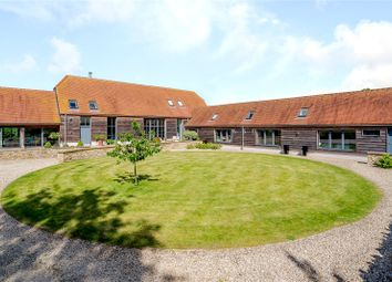 Thumbnail 6 bed barn conversion for sale in The Green, Lyford, Oxfordshire