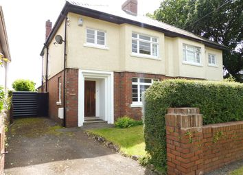 Thumbnail 3 bed semi-detached house for sale in Werngoch Road, Cyncoed, Cardiff