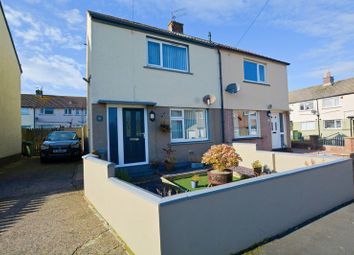 Thumbnail 2 bed semi-detached house for sale in Beverley Close, Workington