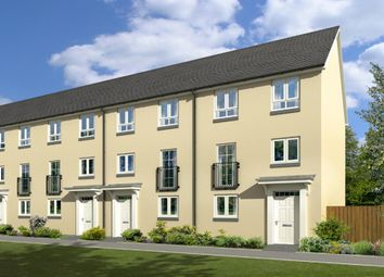 "Thumbnail 3 bedroom terraced house for sale in ""Borthwick"" at Gyle Avenue, South Gyle Broadway, Edinburgh"