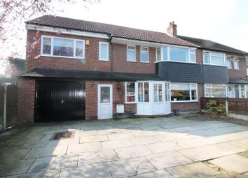 Thumbnail 4 bed semi-detached house for sale in Daresbury Avenue, Urmston, Manchester