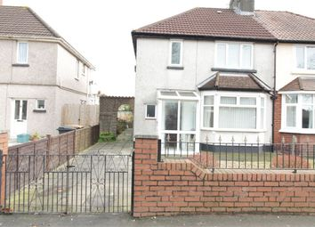 Thumbnail 2 bed semi-detached house for sale in Nash Road, Newport