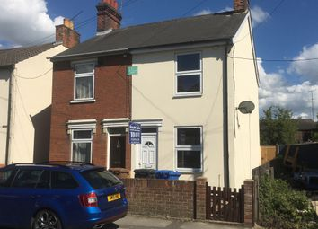 Thumbnail 2 bedroom semi-detached house to rent in Windsor Road, Ipswich