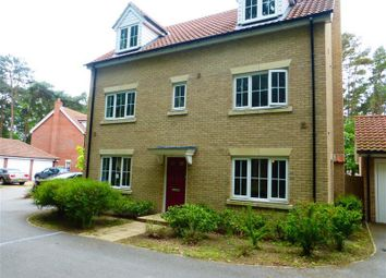 Thumbnail 5 bed detached house to rent in Heathland Way, Mildenhall, Bury St. Edmunds