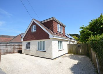Thumbnail 4 bed detached bungalow for sale in St. Marks Road, Pennington, Lymington