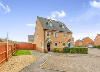 Thumbnail 3 bedroom semi-detached house for sale in Jay Road, Corby