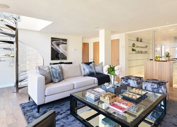 Thumbnail 3 bedroom flat to rent in Young Street, London
