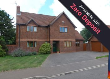 Thumbnail 4 bedroom detached house to rent in Ashdale Park, Wisbech, Cambs