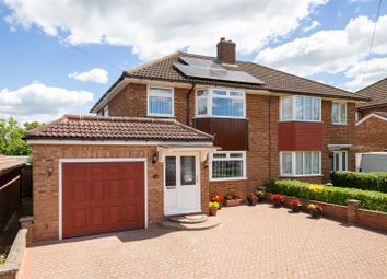 Thumbnail 3 bed semi-detached house for sale in Lawrence Avenue, Letchworth Garden City