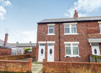 Thumbnail 2 bed flat to rent in Storey Crescent, Newbiggin-By-The-Sea