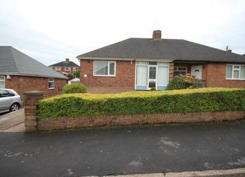 Thumbnail 2 bed semi-detached bungalow to rent in Coupe Drive, Weston Coyney, Stoke-On-Trent