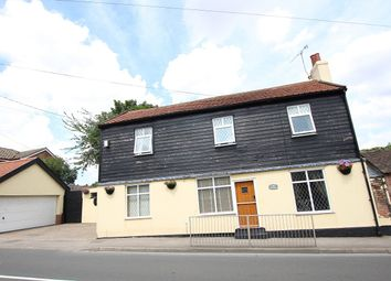 Thumbnail 3 bedroom detached house for sale in Lower Street, Sproughton, Ipswich, Suffolk
