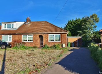 Thumbnail 2 bed semi-detached bungalow for sale in Waldemar Avenue, Old Catton, Norwich