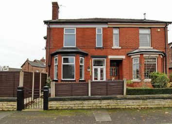 Thumbnail 4 bedroom semi-detached house for sale in Langley Road, Prestwich, Manchester