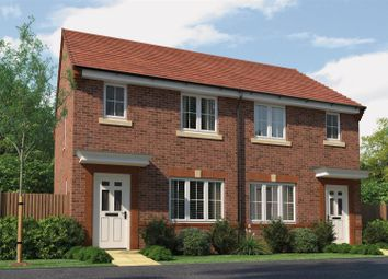 Thumbnail 3 bed town house for sale in Grazier Close, Thorpe Willoughby, Selby